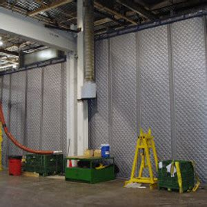 industrial noise curtain sound barrier factory noise