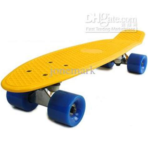 Cheap Blank Skateboard Decks Australia by Vinyl Plastic Cruiser Skateboard Complete 22 Board