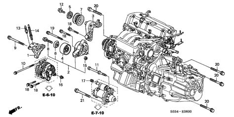 honda civic engine parts diagram automotive parts diagram images