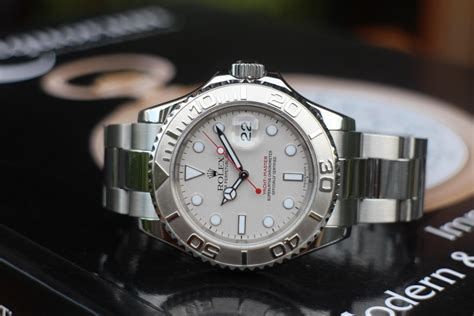 jam tangan for sale rolex yachtmaster ref 16622 steel and platinum sold