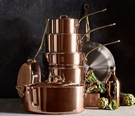 copper cookware set  mauviel sweetscore