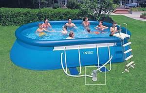 piscine autoportee intex ellipse 549 x 305 x 107 m With petite piscine rectangulaire gonflable 16 piscine gonflable vertbaudet