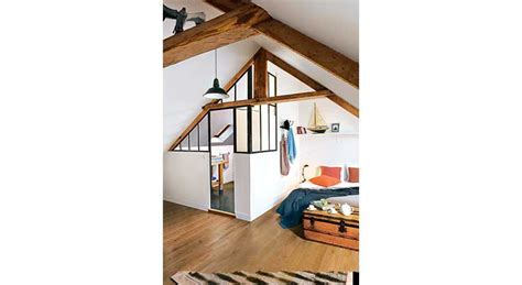 créer une chambre et une salle de bains sous les toits