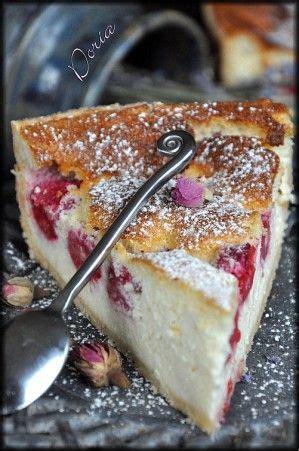 tarte 224 la ricotta et aux framboises desserts cuisine fraises et d 201 pices