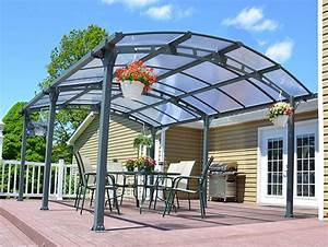 Crescent Curved Roof The Canopy Shop