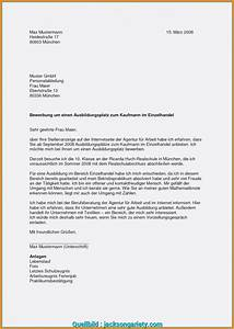 Bewerbung Als Kaufmann Im Einzelhandel : vorhanden bewerbungsschreiben muster ausbildung kauffrau ~ Watch28wear.com Haus und Dekorationen