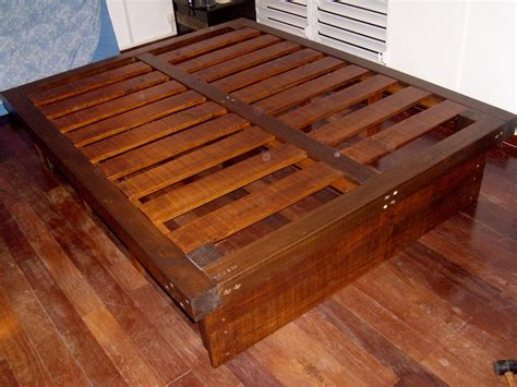 make a bed frame diy queen bed frame with storage plans plans diy how to make quizzical48dhy