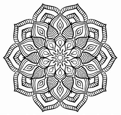 Coloring Pages Teens Complex Adults Mandala