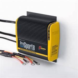 Promariner 43008 Prosport 8 Amp 2 Bank Battery Charger 12