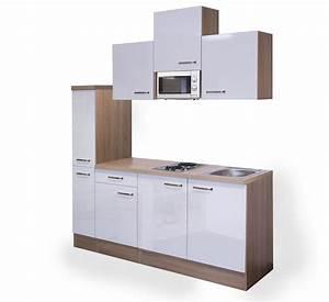 Singlekuche venedig mit elektro kochfeld und mikrowelle for Singleküche mit elektroger ten