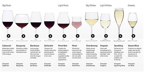 wine types types of wine glasses the juice club w