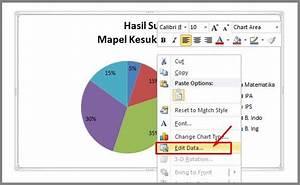 Cara Mudah Membuat Diagram Lingkaran Di Microsoft Word