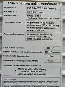 Panneau De Permis De Construire : immeubles en construction et places de stationnement codevi ~ Dailycaller-alerts.com Idées de Décoration