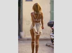Kimberley Garner in Short Dress Shopping 19 GotCeleb