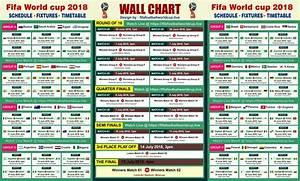 Download Fifa World Cup 2018 Wallchart Calender  U0026 Keep