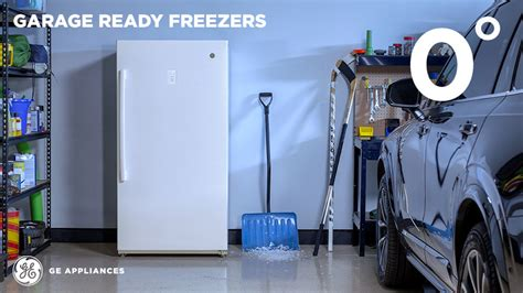 Will A Freezer Work In A Cold Garage by Ge 17 3 Cu Ft Free Upright Freezer In White