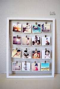 Diy photo wall ideas without frames : Best ideas about diy picture frame on