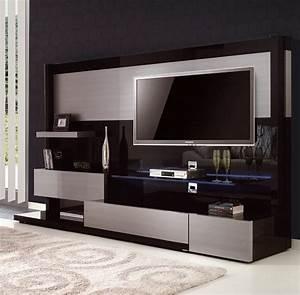 Meuble Tele Haut : meuble tv magasin meuble tv bois chene maison boncolac ~ Teatrodelosmanantiales.com Idées de Décoration