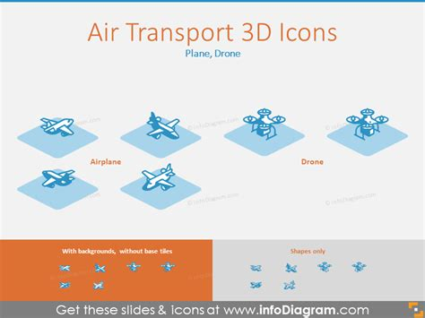 Air Flow Diagram Icon by 3d Supply Chain Icons Powerpoint Template For Logistics