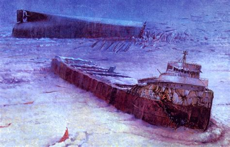 Edmund Fitzgerald Sinking Anniversary by Edmund Fitzgerald The Shipwreck That Never Gave Up Its Dead
