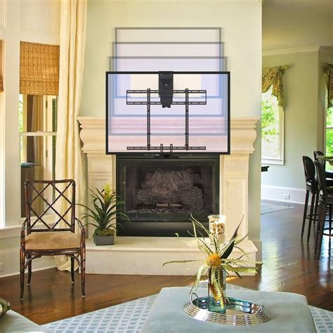 Mantelmount Mm700 Pro Above Fireplace Pull Down Tv Mount