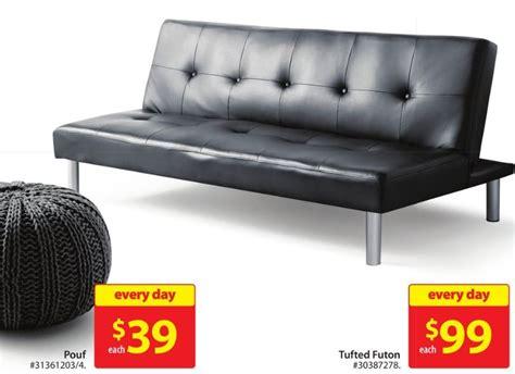 walmart faux leather futon walmart canada deal mainstays faux leather futon only 99