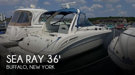 Pontoon Boats For Sale Buffalo Ny by For Sale Used 2003 Sea 360 Sundancer In Buffalo New