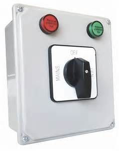 Manual Generator Transfer Switch