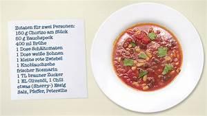 Tomatensuppe Rezept Einfach : tomatensuppe mit chorizo und wei en bohnen rezeptor ~ Yasmunasinghe.com Haus und Dekorationen