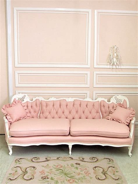 pink loveseats victorianage quot shabby chic on friday quot chapter viii