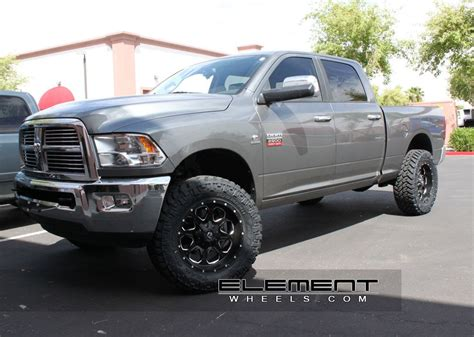 fuel boost blackmilled   dodge ram   specs