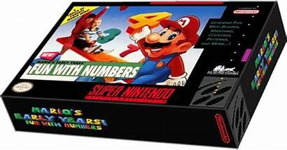 Mario Numbers Early Fun Games Launchbox Box
