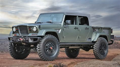 new jeep concept truck image gallery jeep pickup concept