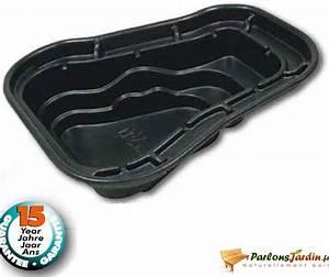 Bassin En Plastique : bassin de jardin pr form en plastique ocean i 1500l ~ Premium-room.com Idées de Décoration