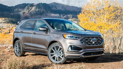 2019 Ford Edge First Drive Review A Baby Step Improvement