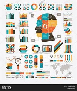 Set Graphs  Charts Diagrams  Vector  U0026 Photo