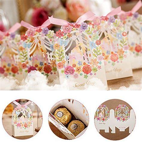 Amazon com: Zorpia® New 50 Pack Romantic Wedding Gift Box