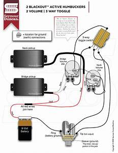 Seymour Duncan Blackouts Wiring Diagram