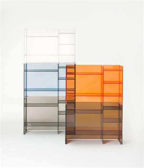 sound rack wall shelves  kartell architonic