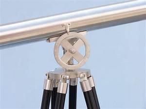 Buy Floor Standing Brushed Nickel Griffith Astro Telescope ...