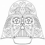 Coloring Skull Pages Disney Adult Printable Colouring Wars Sugar Star Sheets sketch template