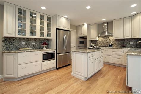 kitchen floor ideas with white cabinets pictures of kitchens traditional white kitchen