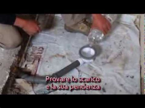 piatto doccia montaggio piatto doccia cubing montaggio scarico e muratura
