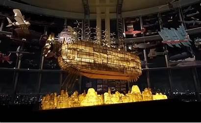 Sky Ship Ghibli Castle Studio Airship Exhibition