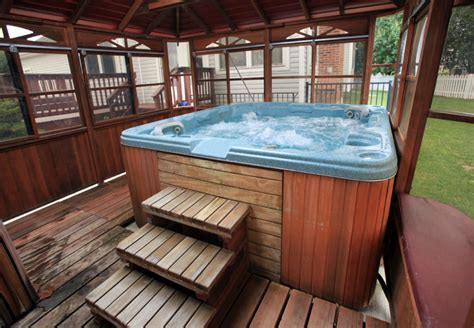 spectacular hot tub gazebo ideas
