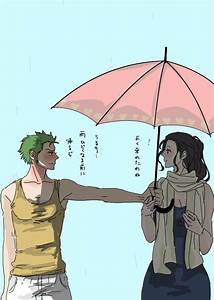 Roronoa Zoro and Nico Robin | M@lou | Pinterest