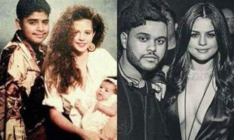 Selena Gomez and The Weeknd look just like her parents