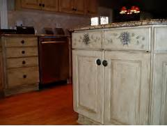 kitchen cabinet ideas painted kitchen cabinets color ideas - Ideas For Refinishing Kitchen Cabinets