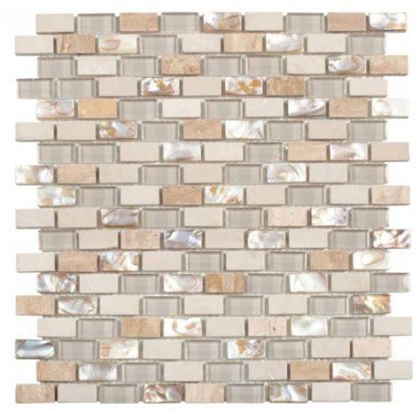 bati orient glass tile bati orient mix mosaic brick 5 8 x 1 3 16 beige white