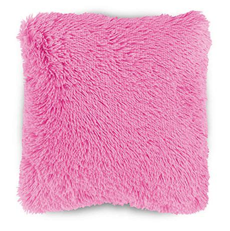 Babybee Kid Pillow Pink mainstays shag faux fur pink dcor pillow cover